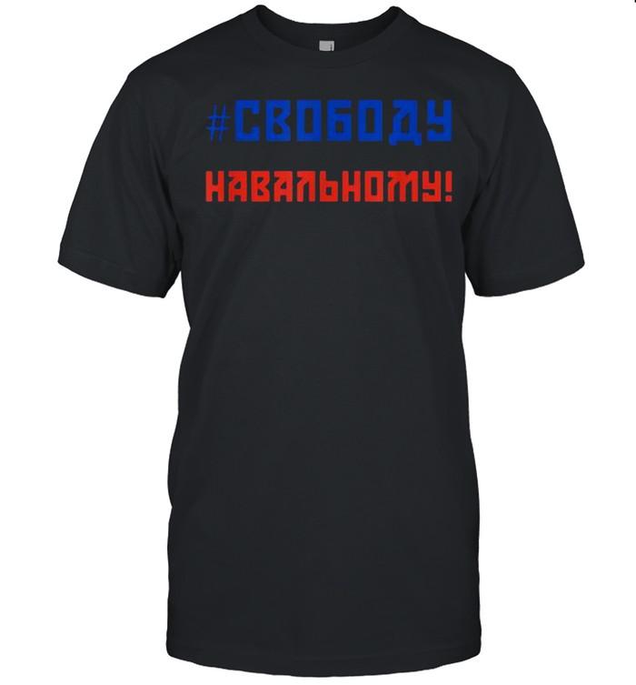 Free Navalny Freedom For Navalny Shirt
