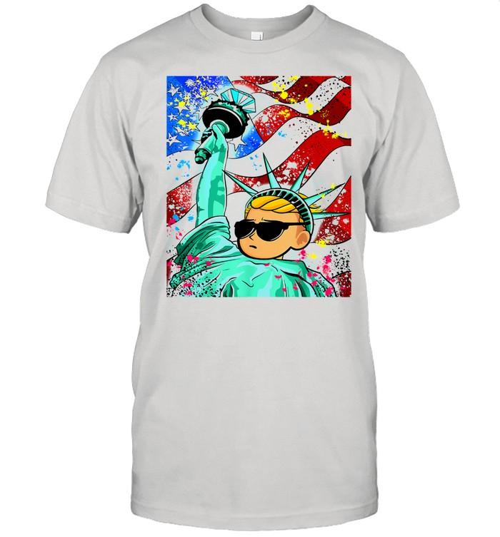 Statue Of Liberty Graffiti Wallstreetbets Wsb Stocks Shirt