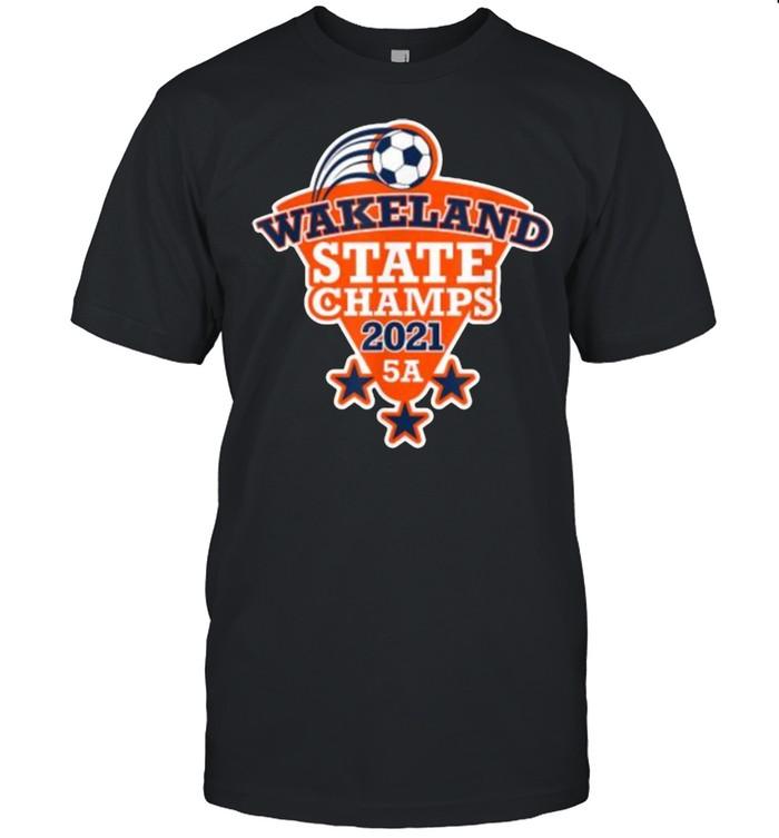 Wakeland High School Boy's Soccer State Champions 2021  Classic Men's T-shirt