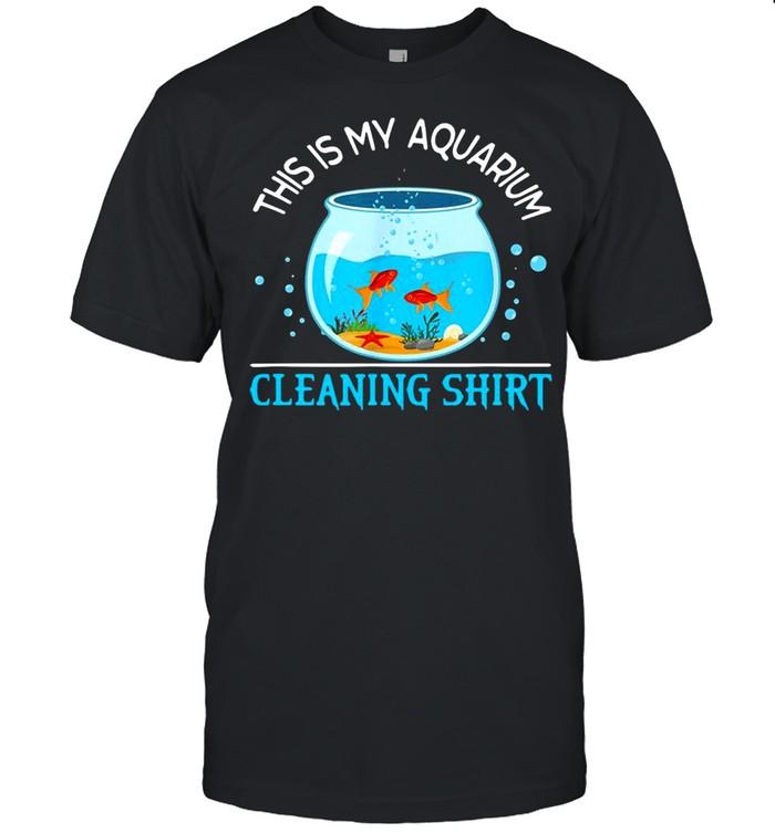This is my aquarium cleaning shirt Classic Men's T-shirt