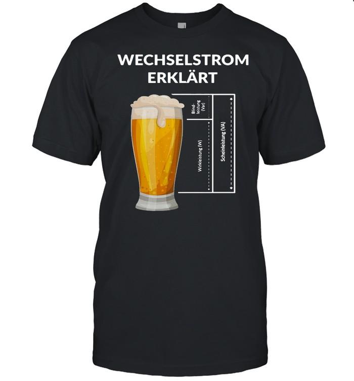 Handwerker Elektronen Widerstand Wechselstrom Erklärt T-shirt Classic Men's T-shirt