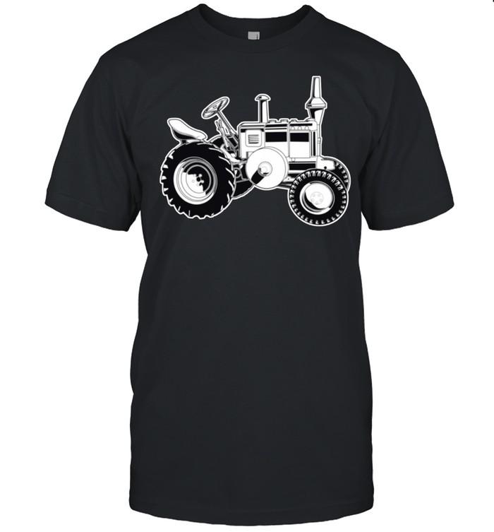 Farmer Tractor Agriculture Farming shirt Classic Men's T-shirt