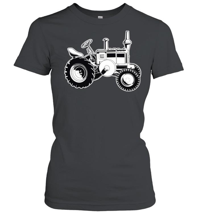 Farmer Tractor Agriculture Farming shirt Classic Women's T-shirt