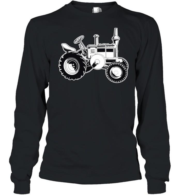 Farmer Tractor Agriculture Farming shirt Long Sleeved T-shirt