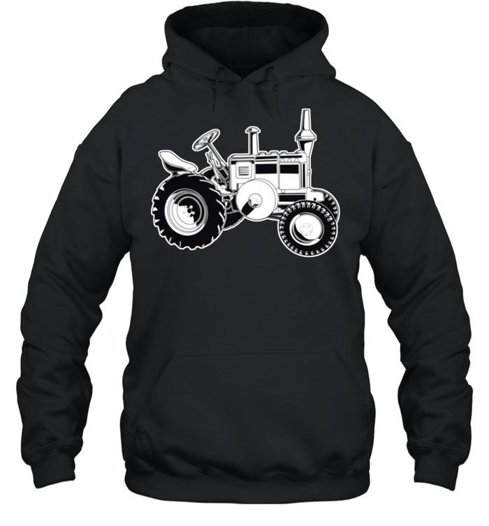 Farmer Tractor Agriculture Farming shirt Unisex Hoodie