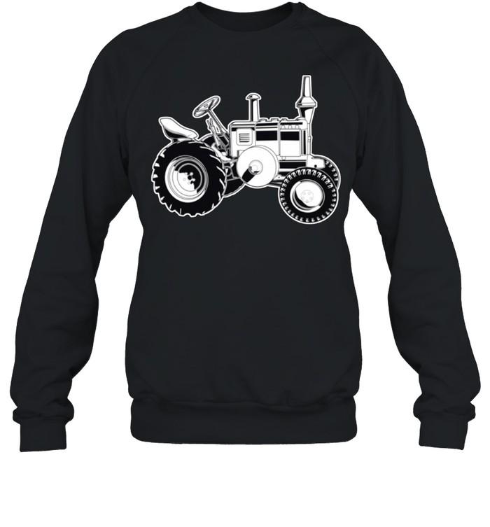 Farmer Tractor Agriculture Farming shirt Unisex Sweatshirt
