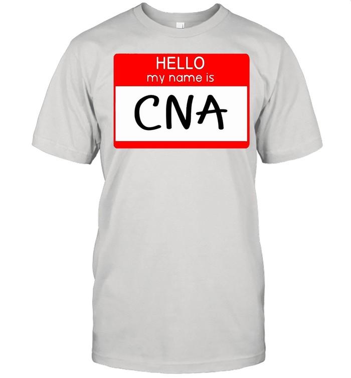 Hello My Name Is CNA T-shirt Classic Men's T-shirt