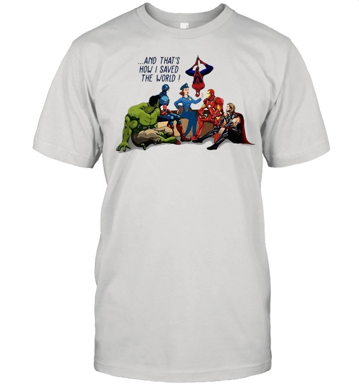 Policevenger And That's How I Saved The World  Classic Men's T-shirt