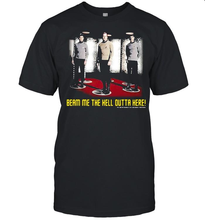 Beam Me The Hell Outta Here Star Trek T-shirt Classic Men's T-shirt