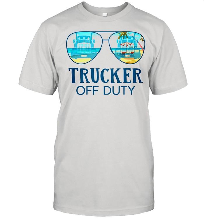 Trucker off duty shirt Classic Men's T-shirt