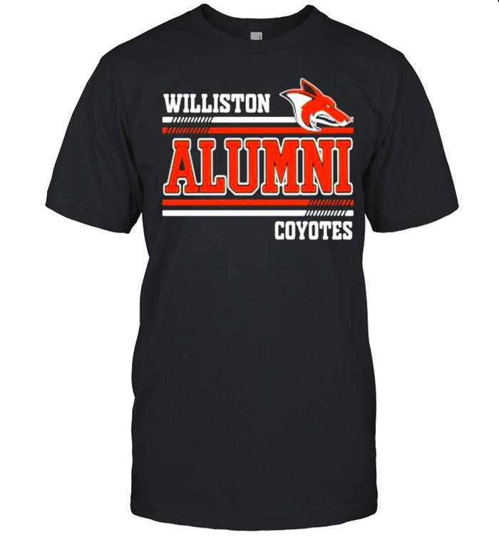 Williston alumni coyotes shirt Classic Men's T-shirt