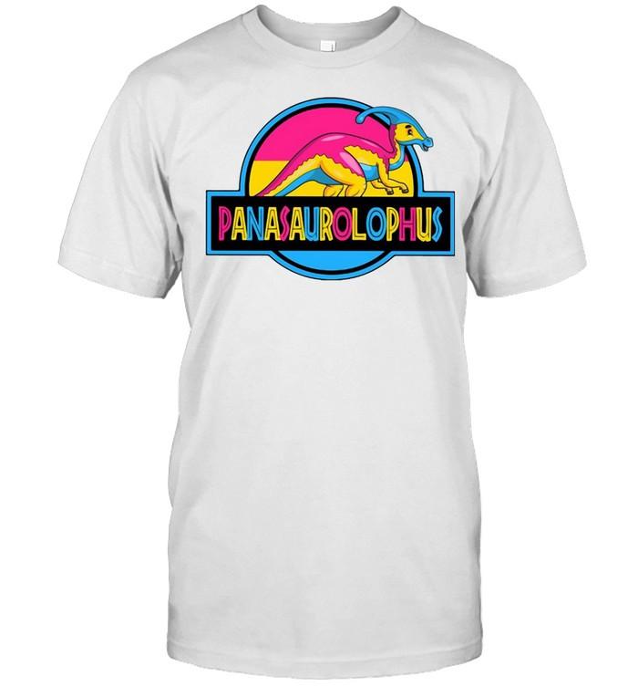 LGBT Panasaurolophus T-shirt Classic Men's T-shirt