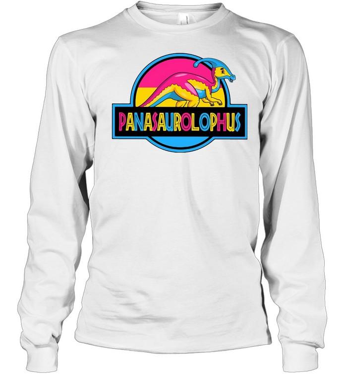 LGBT Panasaurolophus T-shirt Long Sleeved T-shirt