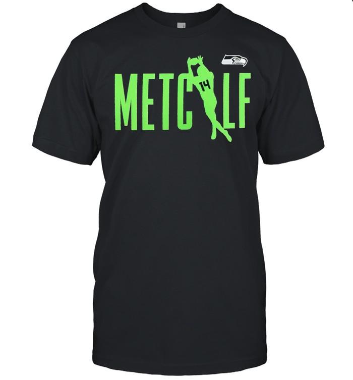 Seattle Seahawks 14 DK Metcalf shirt Classic Men's T-shirt
