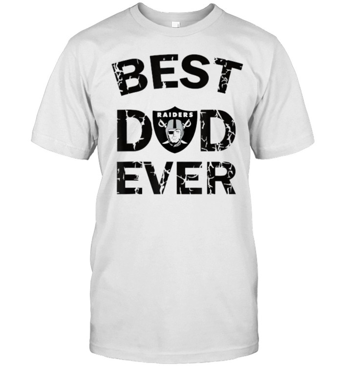 Best Raiders Dad Ever Fathers Day T- Classic Men's T-shirt