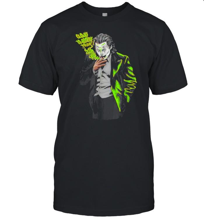 Clowns Do Anything Match Jordan 6 Electric Green T- Classic Men's T-shirt