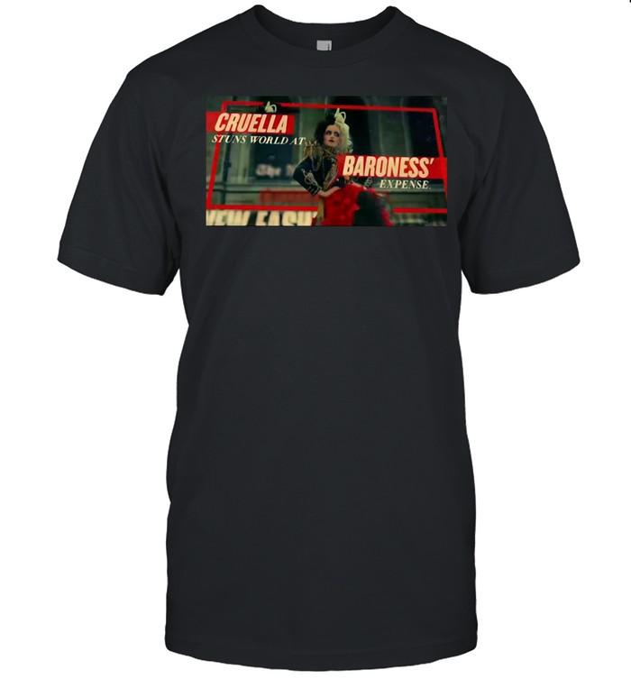 Cruella Stuns World At Baroness' Expense T-shirt Classic Men's T-shirt