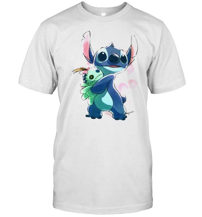 Love Stitch Watercolor  Classic Men's T-shirt