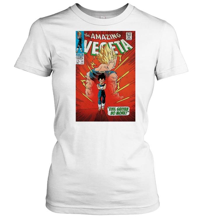 The Amazing Vegeta shirt Classic Women's T-shirt