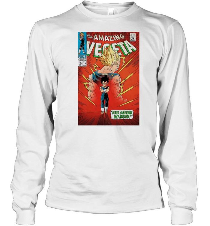 The Amazing Vegeta shirt Long Sleeved T-shirt