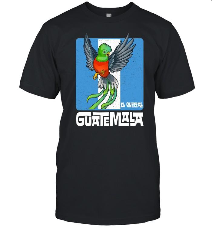 Tipico Guatemala Quetzal Chapin Maya Antigua Guatemalan  Classic Men's T-shirt