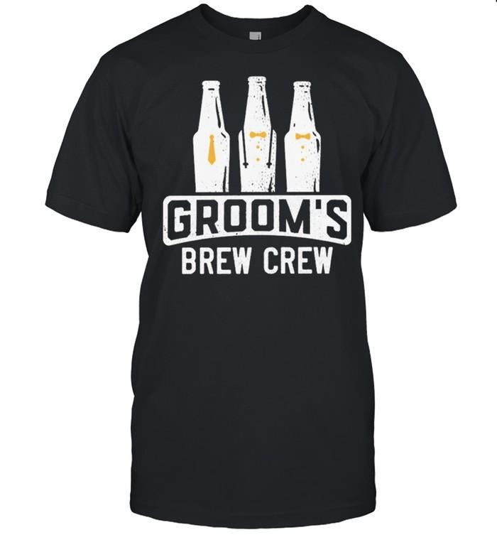 Grooms brew crew shirt Classic Men's T-shirt