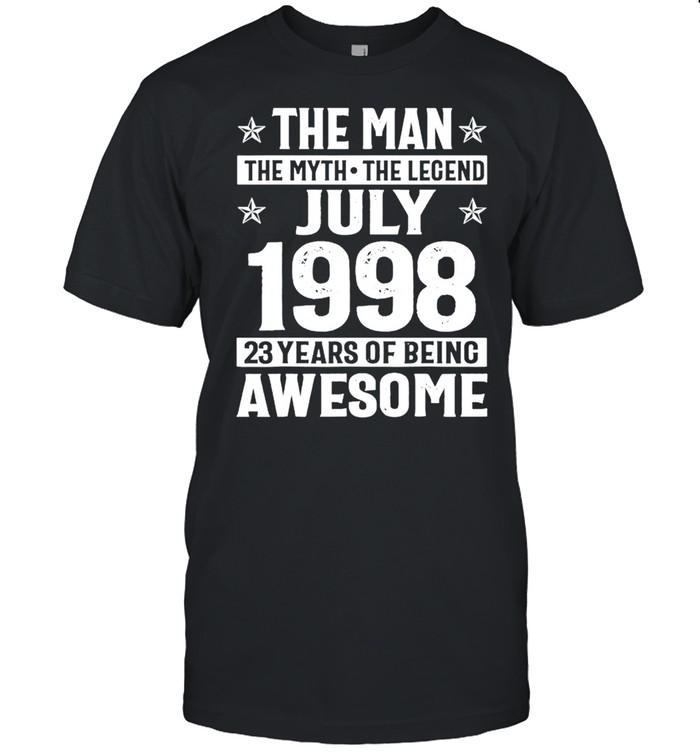 Legends were born in july 1998 23rd quarantine birthday shirt Classic Men's T-shirt
