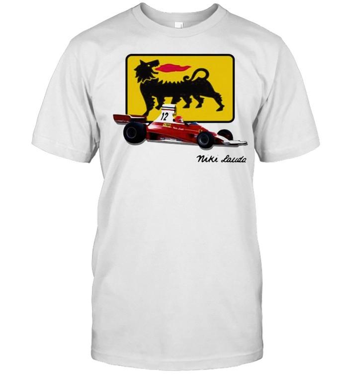 Niki Lauda Scudera Ferrari 12 Car  Classic Men's T-shirt