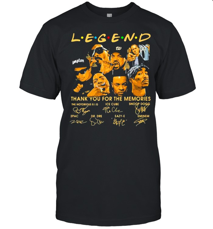 Legend Thank you For The Memorie  Classic Men's T-shirt