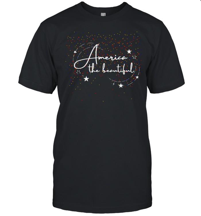America The Beautiful T-shirt Classic Men's T-shirt