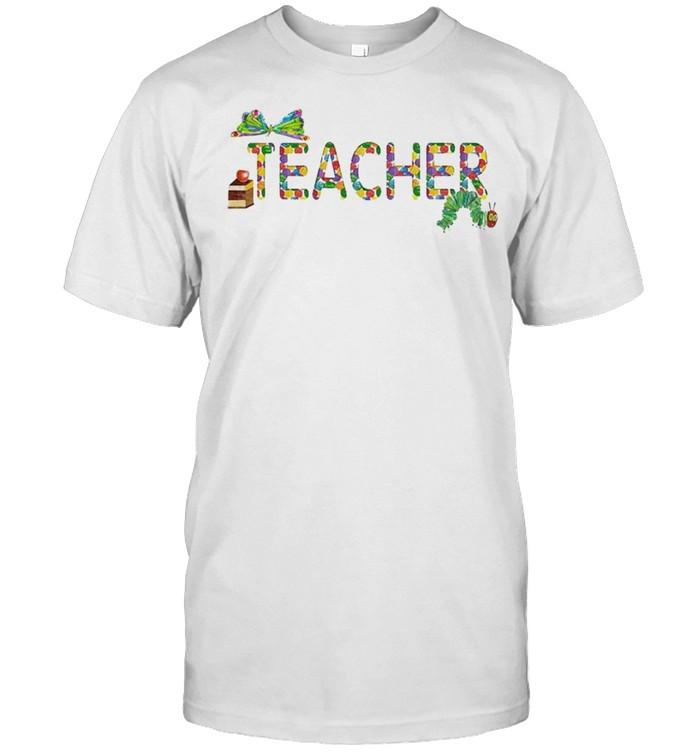 Teacher Very Hungry Caterpillar shirt Classic Men's T-shirt