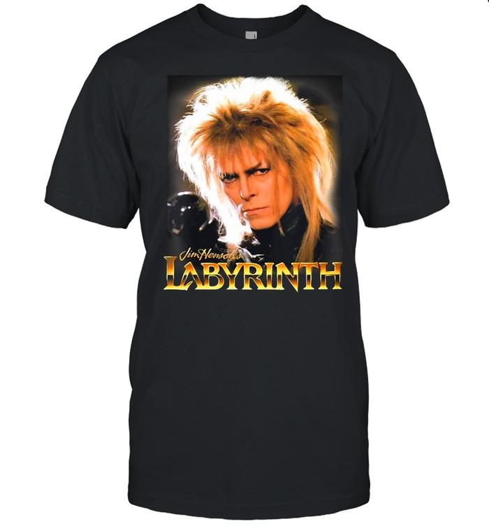 Womens Labyrinth Jareth Vintage T-shirt Classic Men's T-shirt
