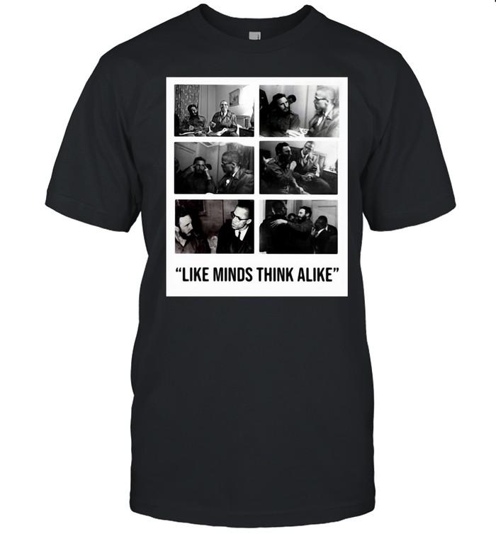 Colin Kaepernick Castro Like Minds Think Alike T-shirt Classic Men's T-shirt