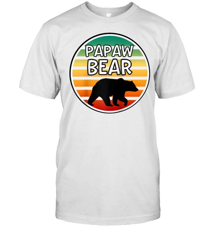 Mens Papaw Bear  Bear For Grandpa Grandparents shirt Classic Men's T-shirt
