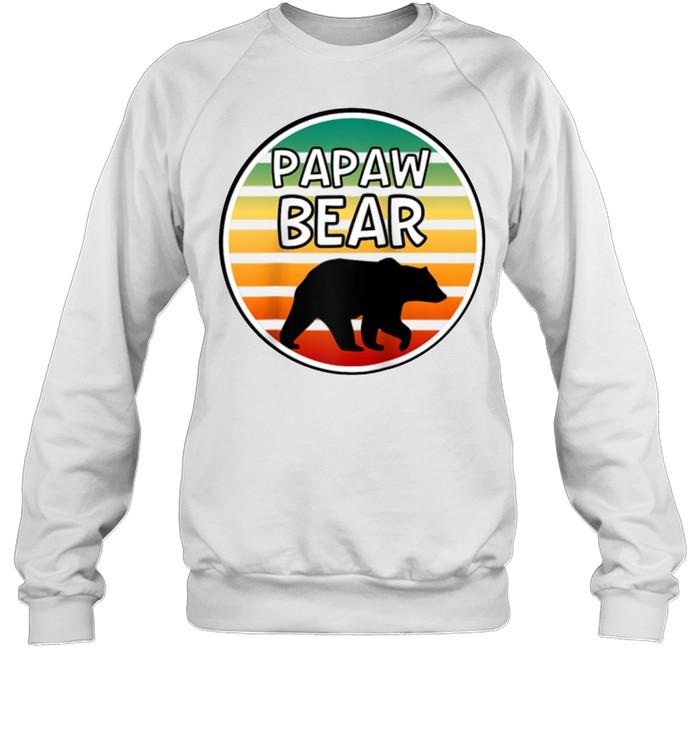Mens Papaw Bear  Bear For Grandpa Grandparents shirt Unisex Sweatshirt