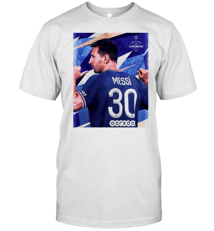 Lionel Messi #30 ici c'est Paris shirt Classic Men's T-shirt