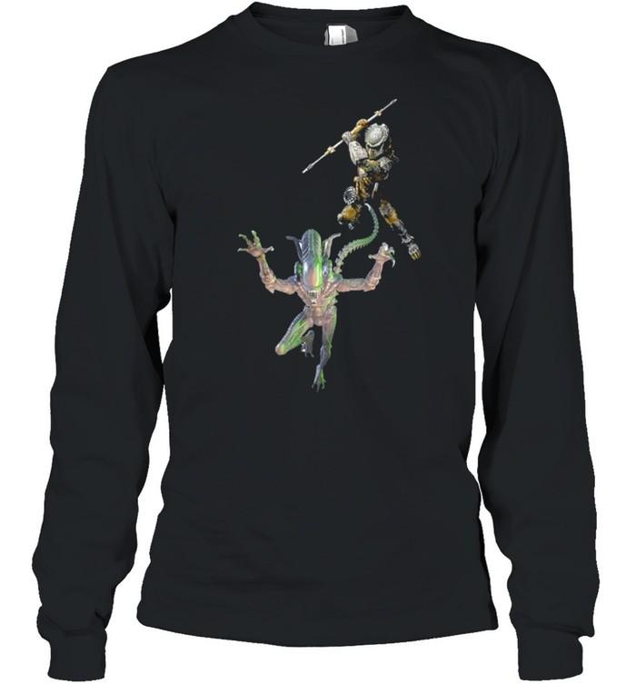 Aliens vs. Predator shirt Long Sleeved T-shirt