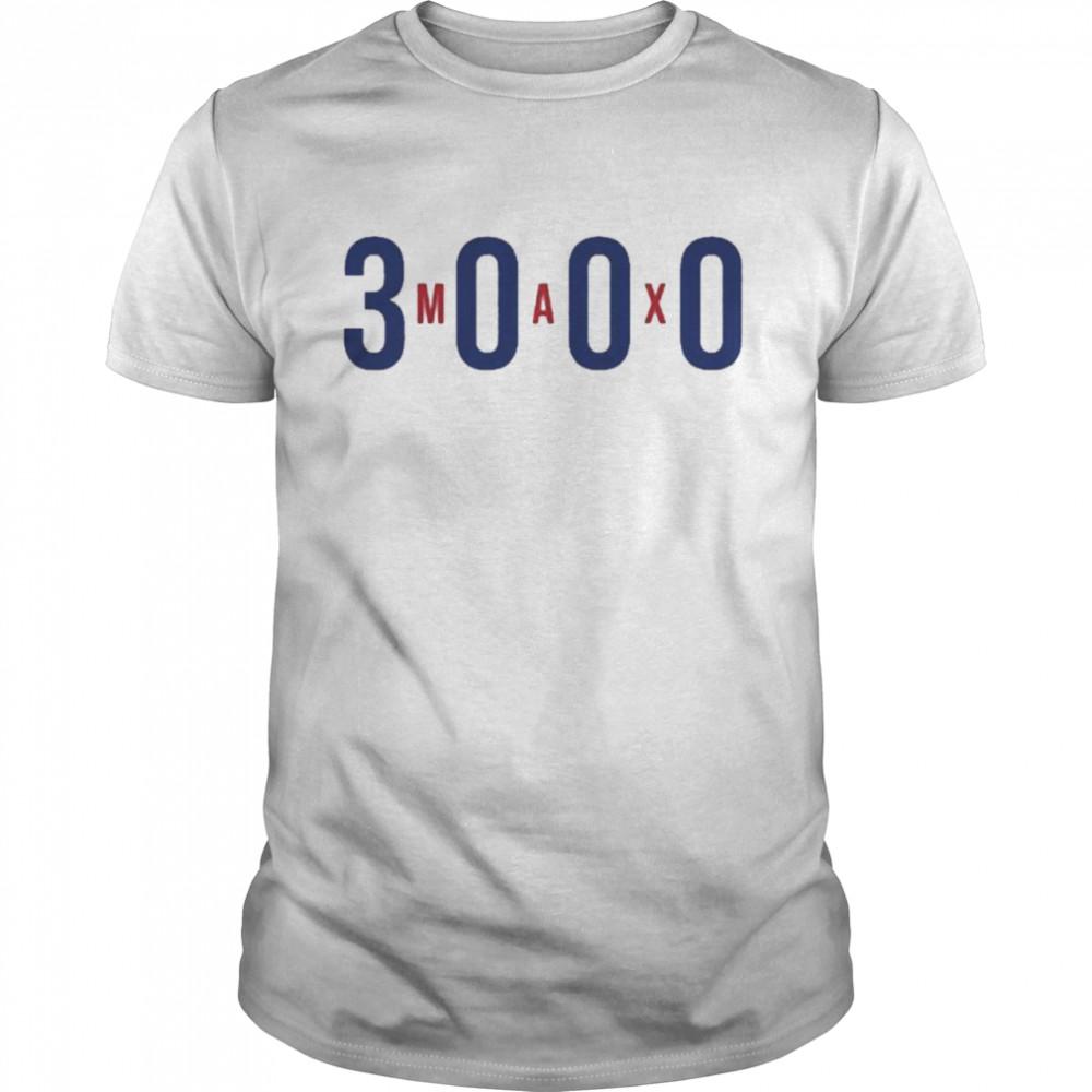 Max Scherzer 3000 strikeouts shirt