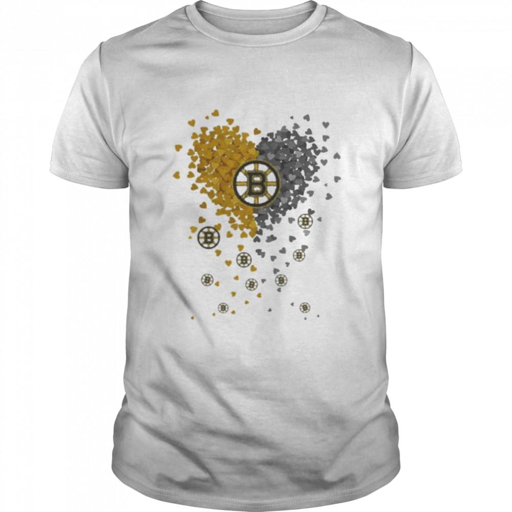 Heart Love Boston Bruins Shirt