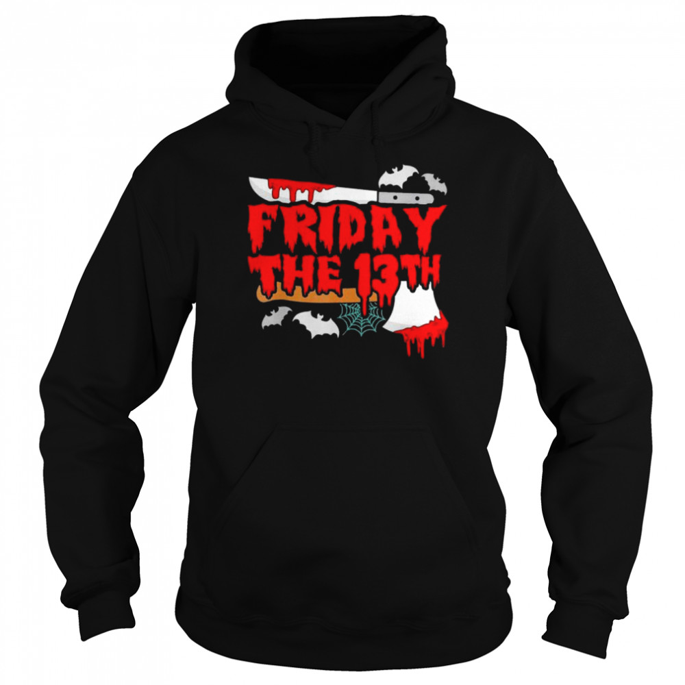Friday the 13 Friday the 13th horror shirt Unisex Hoodie