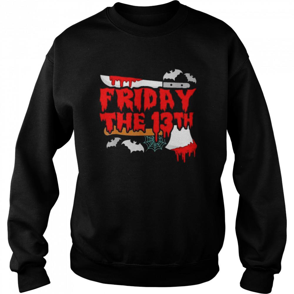 Friday the 13 Friday the 13th horror shirt Unisex Sweatshirt