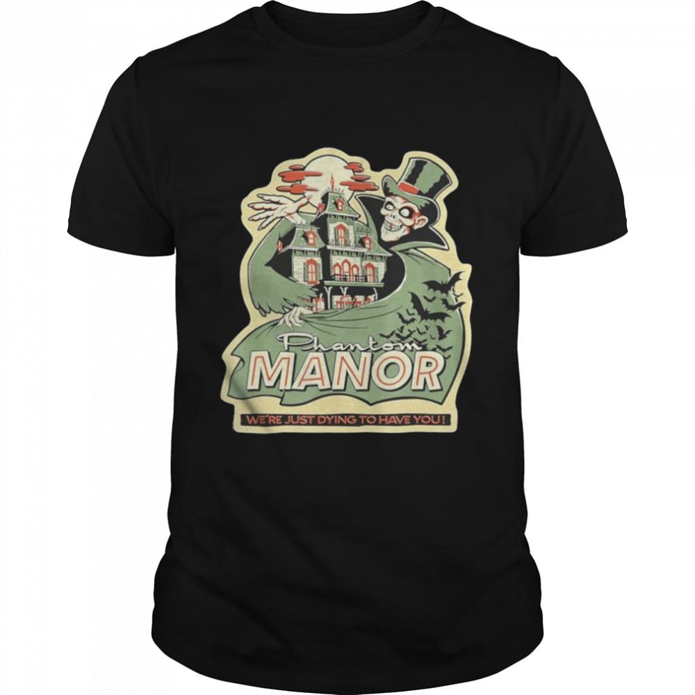 Halloween Phantom Manor Green shirt