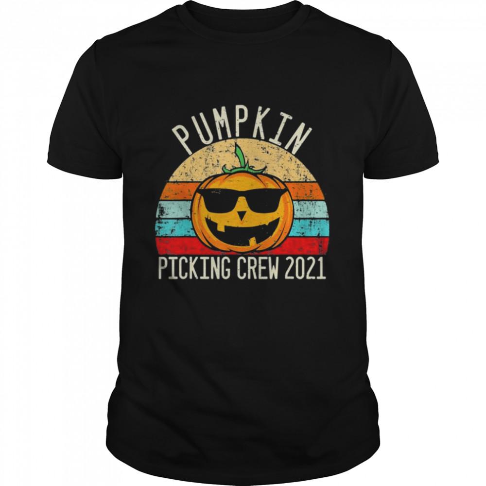 Halloween Pumpkin Picking Crew 2021 shirt