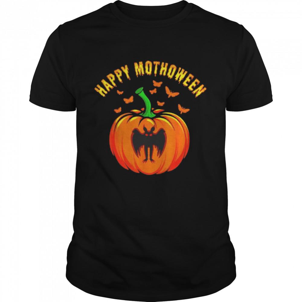 Mothman pumpkin happy Mothoween shirt