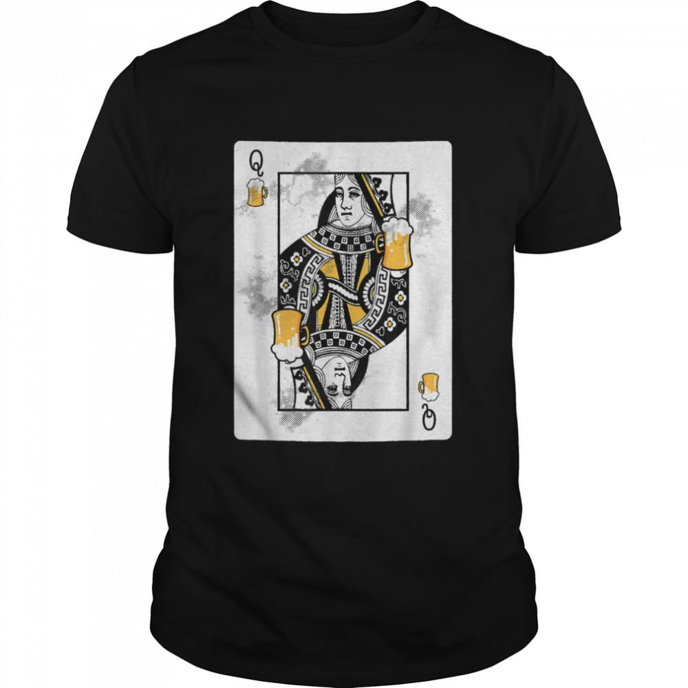 Queen Playing Card Oktoberfest German shirt