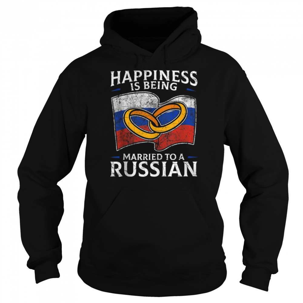 Russia Wedding Russian Federation Roots Married  Unisex Hoodie