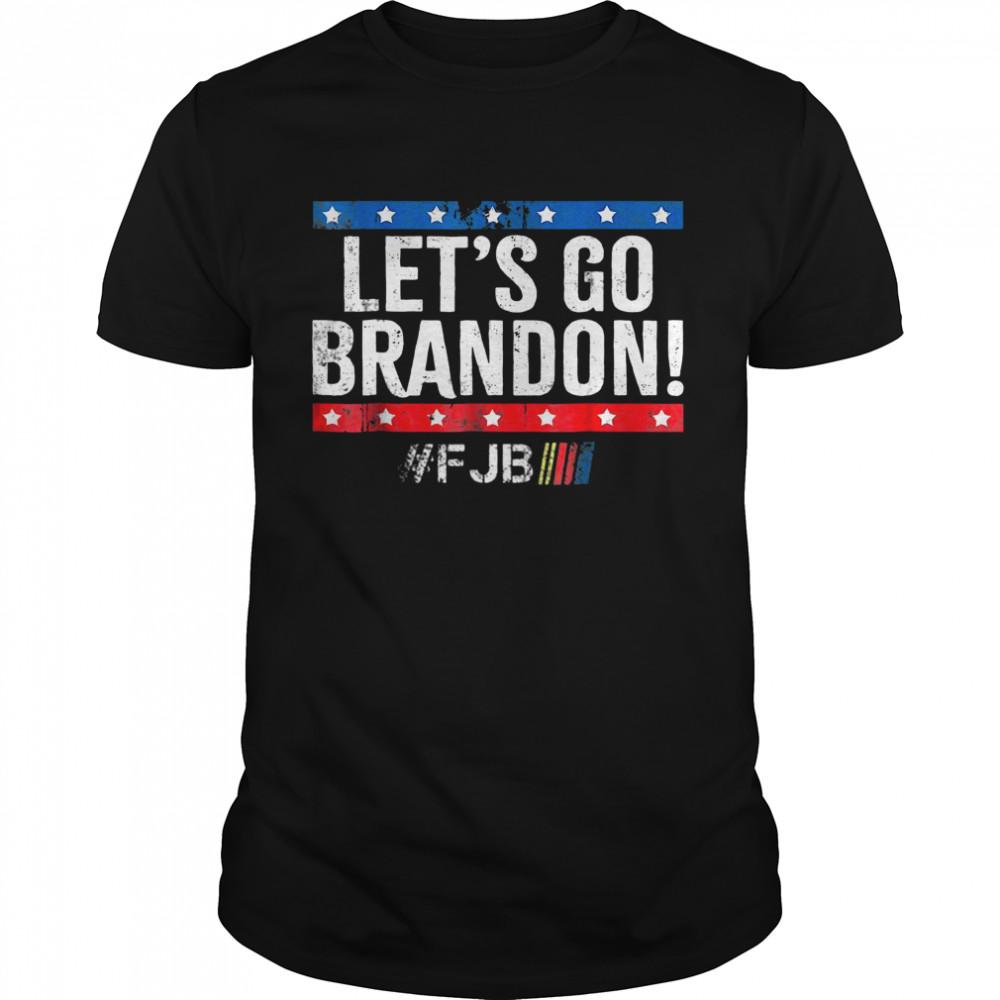 Let's Go Brandon, Joe Biden Chant, Impeach Biden Us Flag Shirt
